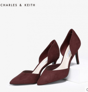 明星女装鞋子款式推荐:尖头鞋